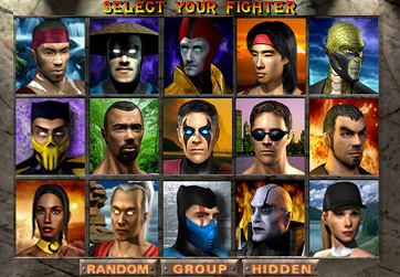 Select A Fighter